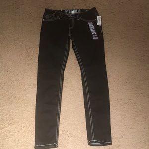 Hydraulic super skinny jeans